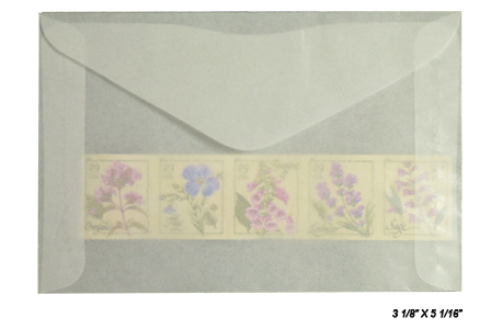 #4.5 Glassine Envelopes - Qty: 1000
