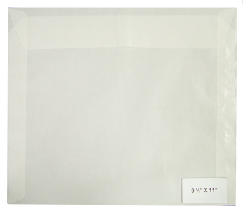 #12 Glassine Envelopes - Qty: 500