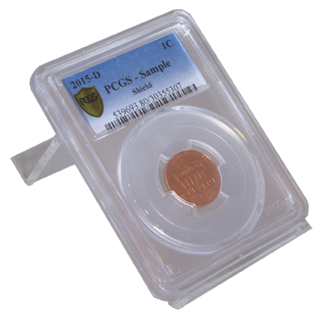 Certified Coin Easel Display
