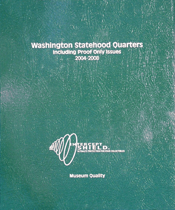 Washington Statehood Quarters with proof 2004-2008