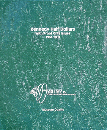 Kennedy Half-Dollars 1964-2001 (including proof only issues)