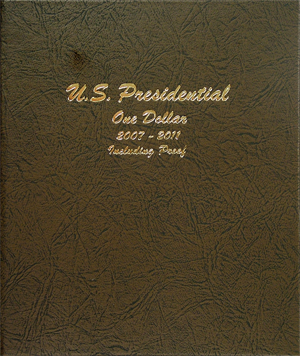 Presidential Coins 2007-2011 Vol 1, P&D with proof