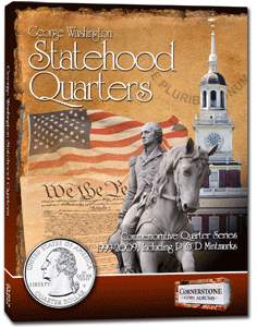 Statehood Quarter Album 1999-2009. P&D