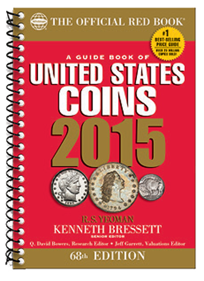2015 Red Book Price Guide of United States Coins, Spiral