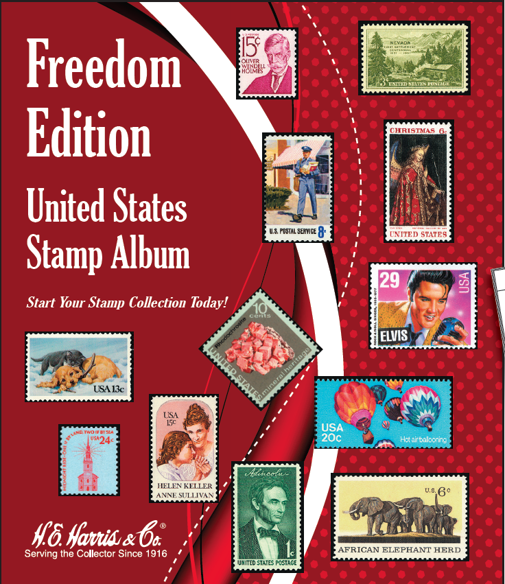 FUTURE RELEASE - Freedom Edition United States Stamp Album