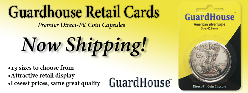Guardhouse Retail Coin Capsule Single Packs