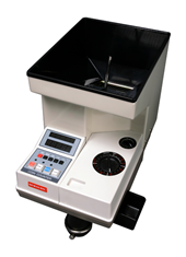 Semacon S-140 Electric Coin Counter with Batching/Packaging/Offsorter, Large Hopper