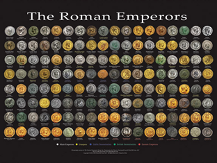 The Roman Emperors - Wall Poster