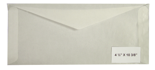 #11 Glassine Envelopes - Qty: 500