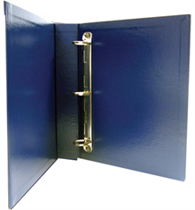 Deluxe Archival Binder - Blue