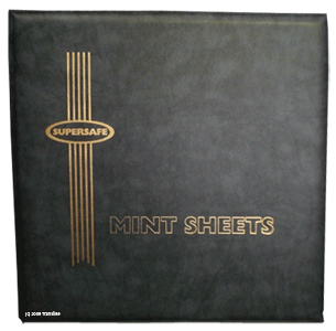 Deluxe Mint Sheet Binder Only (Black)