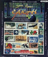 Planet Earth US -- 20 Stamps
