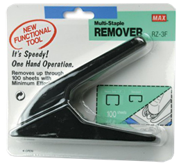 Heavy Duty Staple Remover - 100 Sheet Capacity