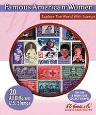 Famous American Women -- 20 Stamps