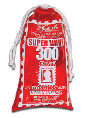 United States Stamp Bag