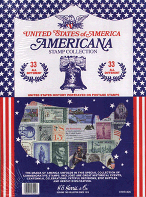 Americana Stamp Collection
