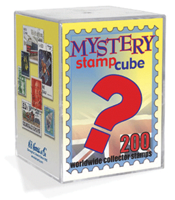 Worldwide Mystery Stamp Cube