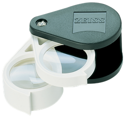 Zeiss Aplanatic-Achromatic Double Loupe: 36D (9x)