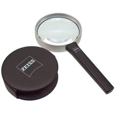 Zeiss 4x VisuLook Classic Aspheric Hand Magnifier: 16D-AR Coating