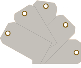 Plain Eye-Loop ID Tags