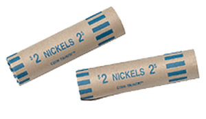 Nested-Preformed Nickel Tube Coin Wrappers