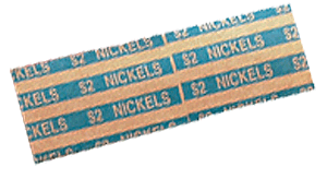 Flat Nickel Coin Wrappers