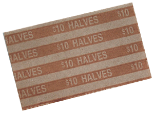 Flat Half Dollar Coin Wrappers