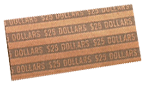 Flat Small Dollar Coin Wrappers