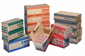 Coin Roll Shipper Box - Quarter Bulk