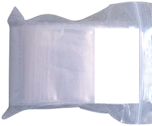 Zip Lock Bag - Write On 2x2- 2 Mil seal