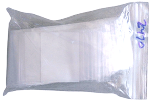 Zip Lock Bag - Write On - 2x3