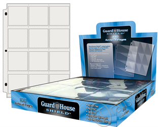 Guardhouse Shield 12 Pocket (100 pack) Polypropylene Pages