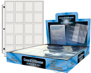 Guardhouse Shield 20 Pocket (100 pack) Polypropylene Pages