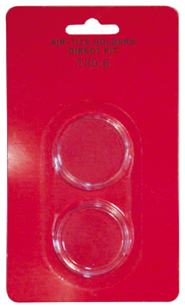 Guardhouse Capsule Storage Box /& 50 T30 Air-Tite 30.6mm Direct Fit Coin Holders