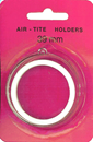 Air Tite 39mm Retail Package Holders - Holiday Ornament White Ring