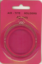 Air Tite 40mm Retail Package Holders - Holiday Ornament Red