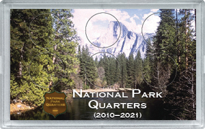 National Park Quarters Original Mountain Design