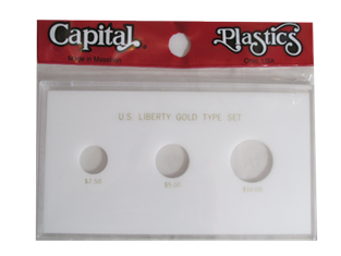 US Liberty Gold Type Set