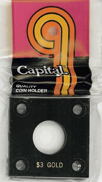 capital plastics coin holders