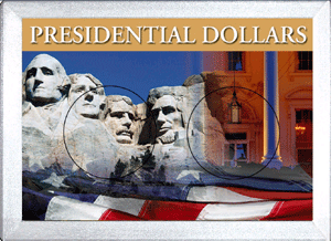Presidential Dollar Frosty Case - 2 Hole