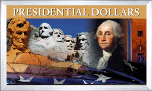 Presidential Dollar Frosty Case - 4 Hole