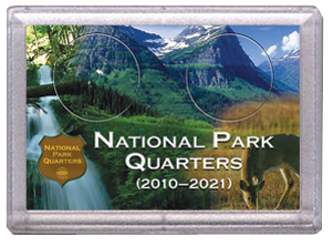 National Parks Deer and Meadow Design Frosty Case - 2 Hole