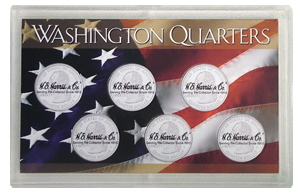 State Quarters 5-Hole Frosty Case