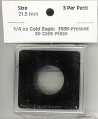 1/4 oz. Gold Eagle, 20 Cent Piece