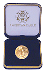 US Mint Gold Eagle 1/2 oz Presentation Box