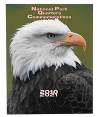 Supersafe National Parks Quarters Albums - 1 MM