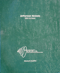 Jefferson Nickels 2003 to Present (including proof only issues)