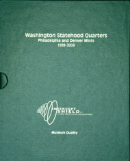 Washington Statehood Quarters 1999-2008 P&D
