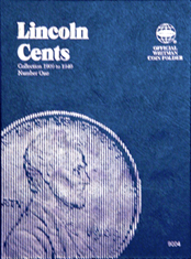 Lincoln Cent No. 1, 1909-1940