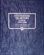 Statehood Quarters Album 1999-2008, P&D
